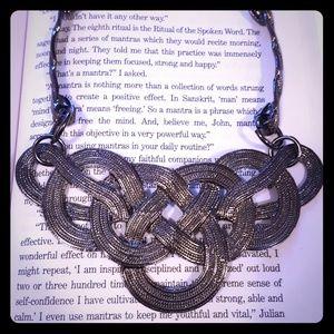 Jewelry - Statement dark gray necklace